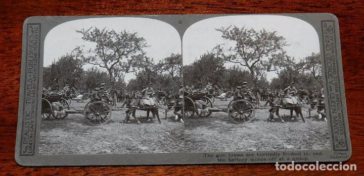 Militaria: 10 Fotografias estereoscopicas de la I Guerra Mundial. Ed. Realistic Travels, London, Num. 1 al 10, - Foto 9 - 103037399