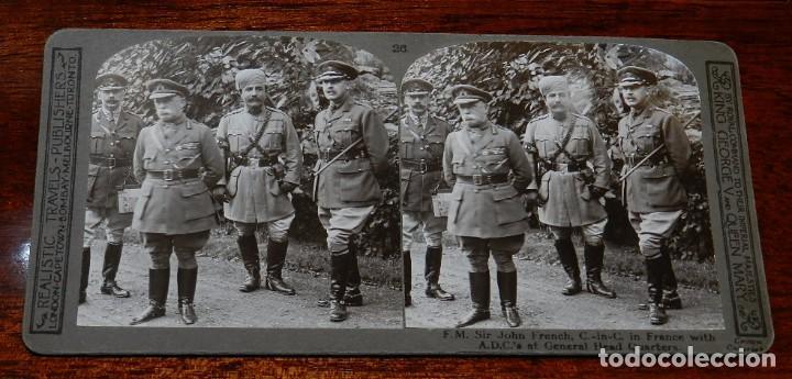 Militaria: 10 Fotografias estereoscopicas de la I Guerra Mundial. Ed. Realistic Travels, London, Num. 24, 25, 2 - Foto 4 - 103038379