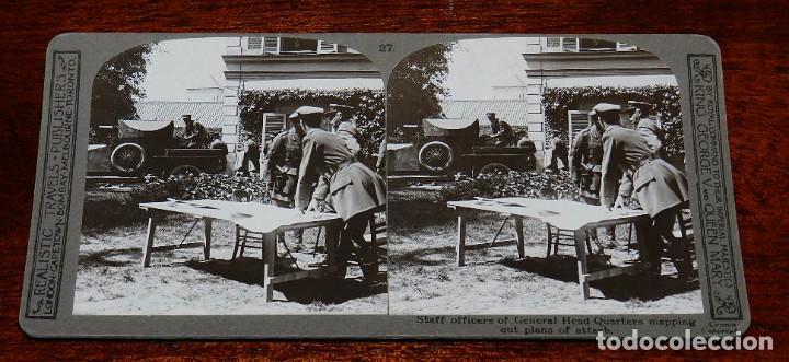 Militaria: 10 Fotografias estereoscopicas de la I Guerra Mundial. Ed. Realistic Travels, London, Num. 24, 25, 2 - Foto 5 - 103038379