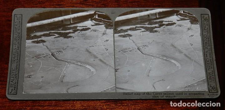 Militaria: 10 Fotografias estereoscopicas de la I Guerra Mundial. Ed. Realistic Travels, London, Num. 24, 25, 2 - Foto 6 - 103038379