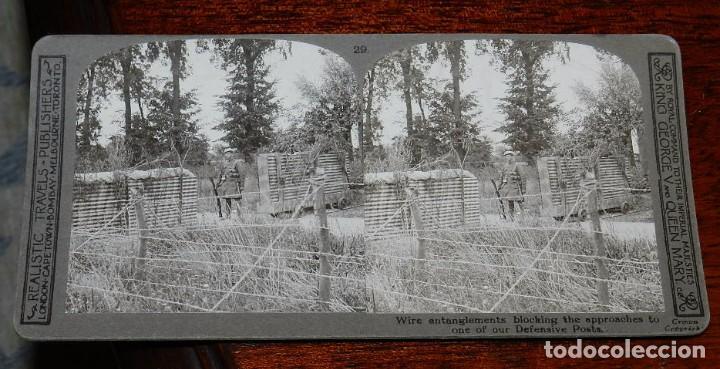 Militaria: 10 Fotografias estereoscopicas de la I Guerra Mundial. Ed. Realistic Travels, London, Num. 24, 25, 2 - Foto 7 - 103038379
