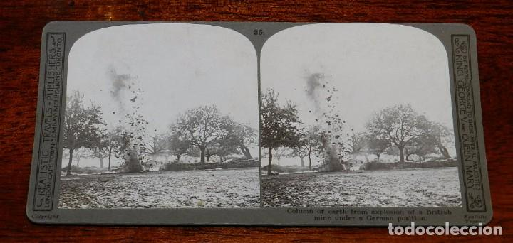 Militaria: 10 Fotografias estereoscopicas de la I Guerra Mundial. Ed. Realistic Travels, London, Num. 24, 25, 2 - Foto 9 - 103038379