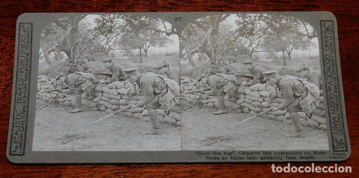 Militaria: 10 Fotografias estereoscopicas de la I Guerra Mundial. Ed. Realistic Travels, London, Num. 24, 25, 2 - Foto 10 - 103038379