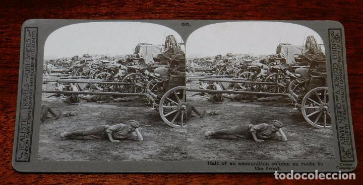Militaria: 10 Fotografias estereoscopicas de la I Guerra Mundial. Ed. Realistic Travels, London, Num. 66, 67, 6 - Foto 3 - 103039979