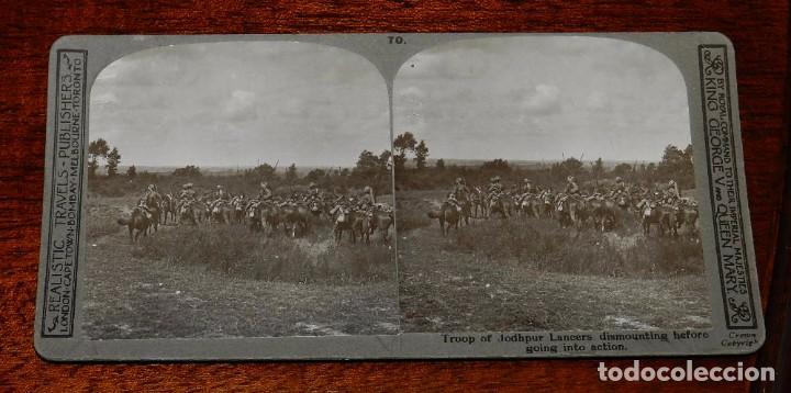 Militaria: 10 Fotografias estereoscopicas de la I Guerra Mundial. Ed. Realistic Travels, London, Num. 66, 67, 6 - Foto 4 - 103039979