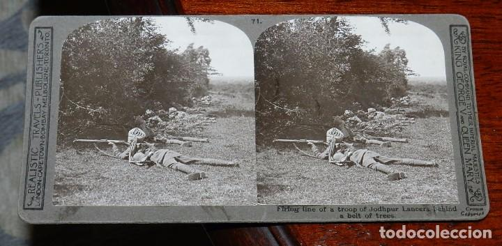 Militaria: 10 Fotografias estereoscopicas de la I Guerra Mundial. Ed. Realistic Travels, London, Num. 66, 67, 6 - Foto 5 - 103039979