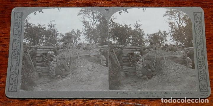 Militaria: 10 Fotografias estereoscopicas de la I Guerra Mundial. Ed. Realistic Travels, London, Num. 66, 67, 6 - Foto 7 - 103039979
