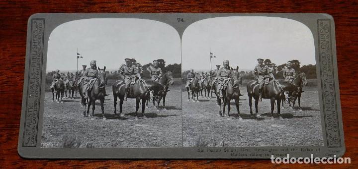 Militaria: 10 Fotografias estereoscopicas de la I Guerra Mundial. Ed. Realistic Travels, London, Num. 66, 67, 6 - Foto 8 - 103039979
