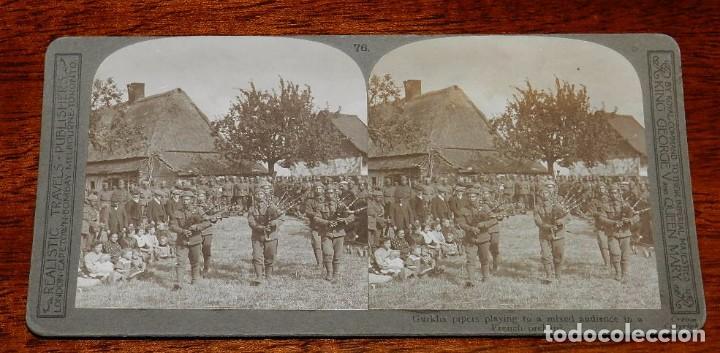 Militaria: 10 Fotografias estereoscopicas de la I Guerra Mundial. Ed. Realistic Travels, London, Num. 66, 67, 6 - Foto 9 - 103039979