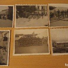 Militaria: FOTOGRAFIAS CAMPAMENTO JUVENTUDES FALANGISTAS, AÑOS 40. Lote 103086003