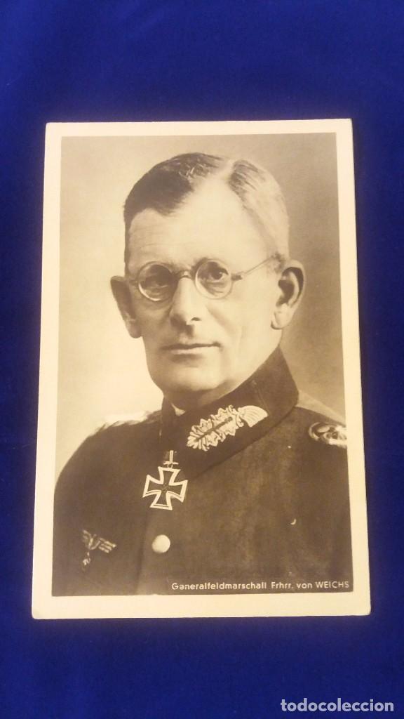 POSTAL ALEMANA GENERAL VON WEICHS, 2ªGUERRA MUNDIAL (Militar - Fotografía Militar - II Guerra Mundial)