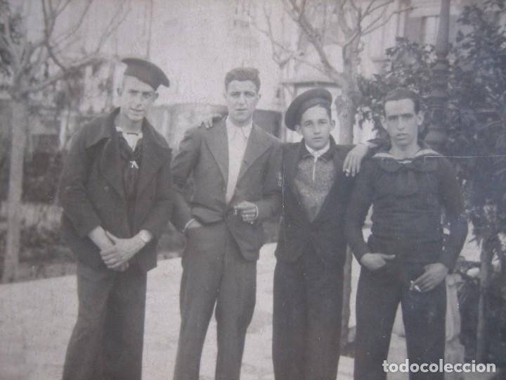 FOTOGRAFÍA MARINEROS. SAN FERNANDO 1936 (Militar - Fotografía Militar - Otros)