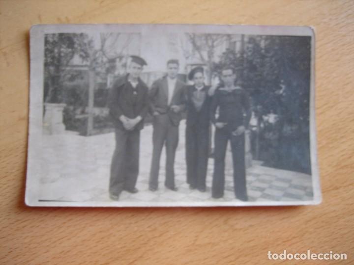 Militaria: Fotografía marineros. San Fernando 1936 - Foto 2 - 103172331