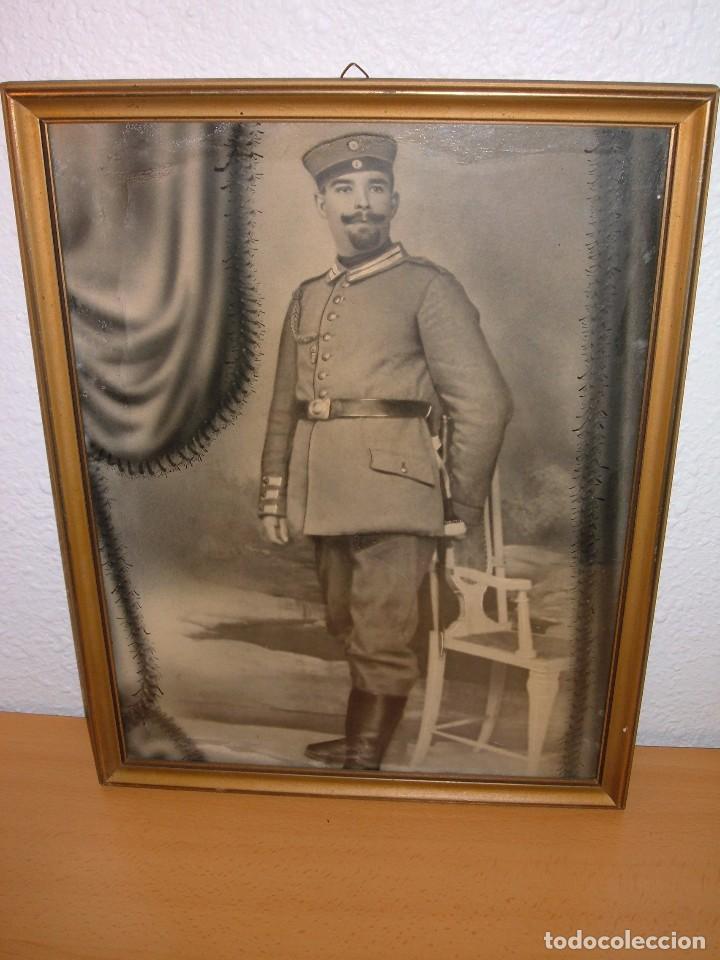 ANTIGUA FOTOGRAFIA DE MILITAR ALEMAN, 1ªG.M (Militar - Fotografía Militar - I Guerra Mundial)