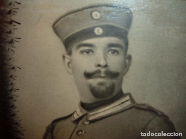 Militaria: ANTIGUA FOTOGRAFIA DE MILITAR ALEMAN, 1ªG.M - Foto 2 - 103176151