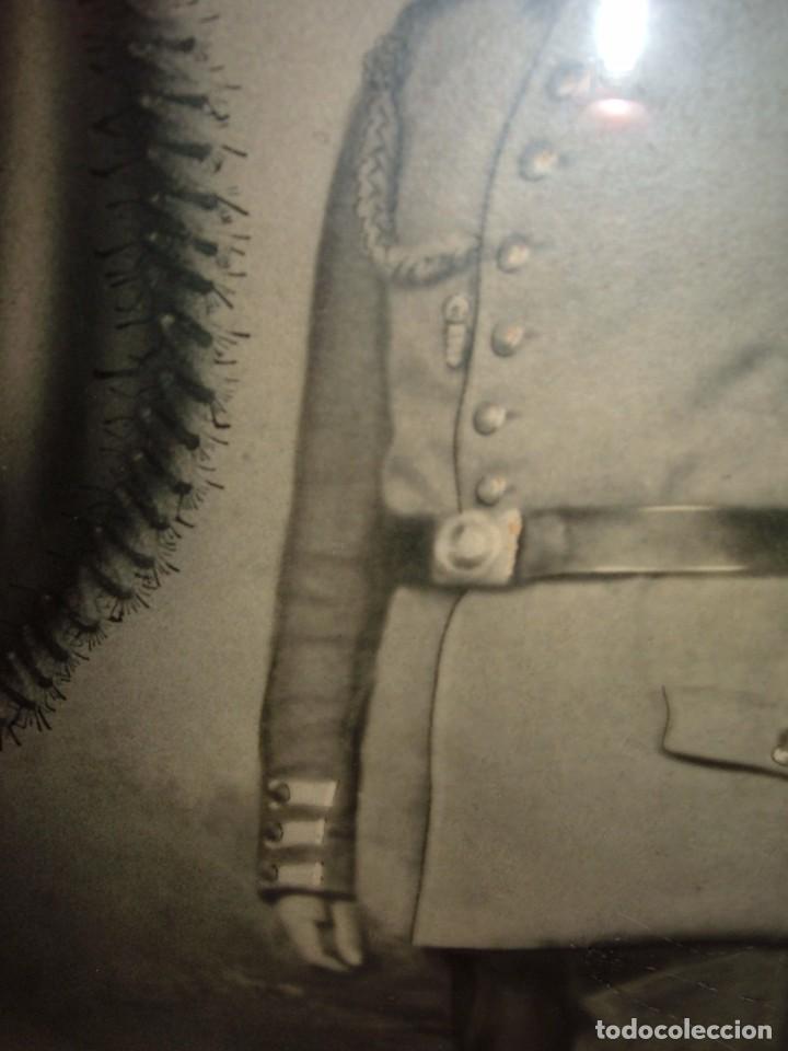 Militaria: ANTIGUA FOTOGRAFIA DE MILITAR ALEMAN, 1ªG.M - Foto 3 - 103176151