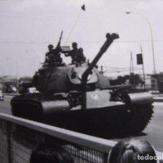 Militaria: FOTOGRAFÍA CARRO DE COMBATE DEL EJÉRCITO ESPAÑOL.. Lote 103210563