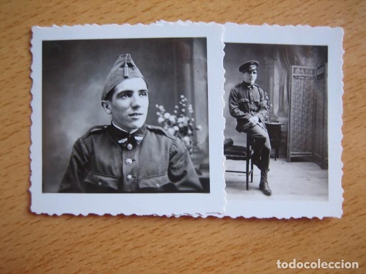 FOTOGRAFÍAS SOLDADO AVIACIÓN. RIBADEO 1933 (Militar - Fotografía Militar - Otros)