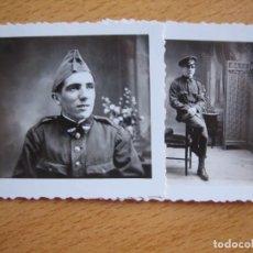 Militaria: FOTOGRAFÍAS SOLDADO AVIACIÓN. RIBADEO 1933. Lote 103237991