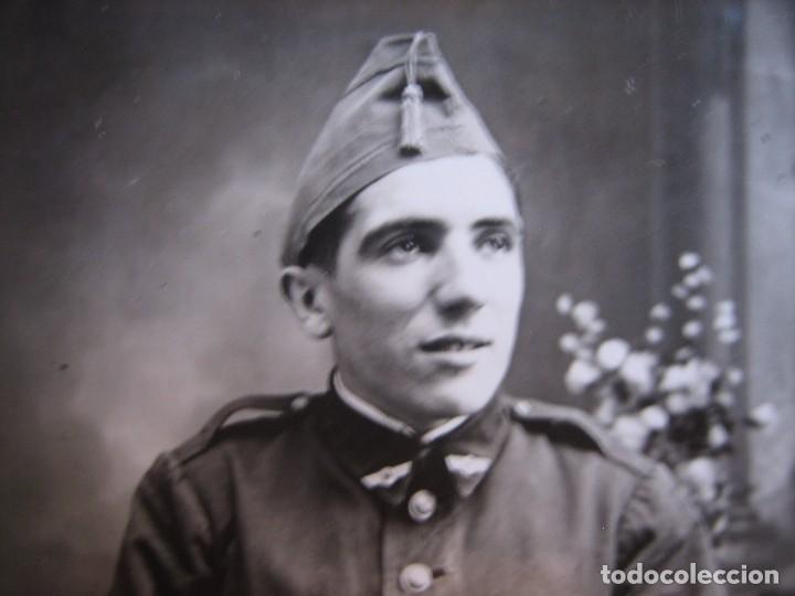 Militaria: Fotografías soldado aviación. Ribadeo 1933 - Foto 2 - 103237991