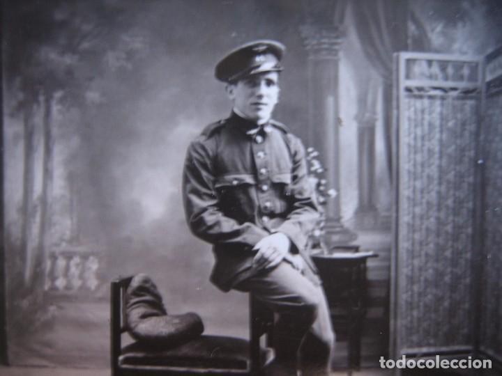 Militaria: Fotografías soldado aviación. Ribadeo 1933 - Foto 3 - 103237991