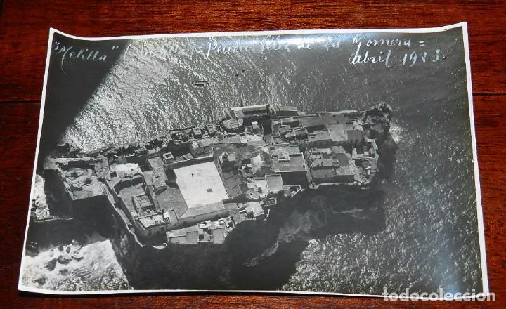 FOTOGRAFIA DE MELILLA, PEÑON VELEZ DE LA GOMERA, ABRIL DE 1923, GUERRA DEL RIF, GUERRA DE AFRICA, MI (Militar - Fotografía Militar - Otros)