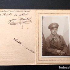 Militaria: FOTOGRAFIA MILITAR ARTILLERIA SEVILLA 1935. Lote 103630619