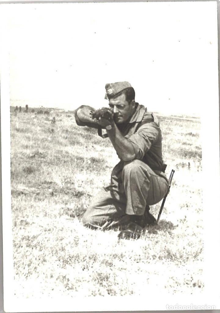 SARGENTO DE MILICIAS UNIVERSITARIAS. 1960 (Militar - Fotografía Militar - Otros)