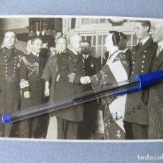 Militaria: FOTOGRAFIA DE UNA REPRESENTACIÓN ESPAÑOLA DE MARINOS EN EL TEATRO KABUKIZA DE TOKIO EN 1931. Lote 103938771