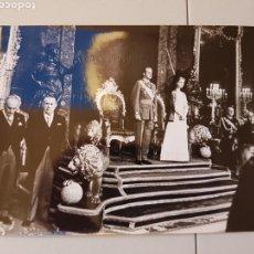 Militaria: GRAN LOTE DE FOTOS ORIGINALES DE AGENCIA DE LA PROCLAMACION DE JUAN CARLOS I. Lote 104049458