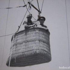 Militaria: FOTOGRAFÍA OFICIAL DEL EJÉRCITO ESPAÑOL. AEROSTACIÓN GUADALAJARA. Lote 104181779