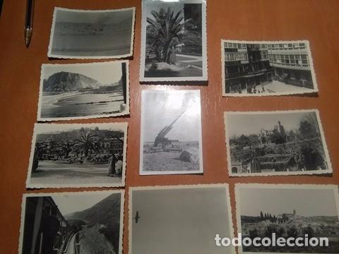 LOTE FOTOGRAFIAS LEGION CONDOR (Militar - Fotografía Militar - Guerra Civil Española)
