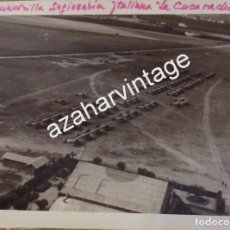 Militaria: SEVILLA, 1939, AERODROMO DE TABLADA, AVIACION LEGIONARIA, LA CUCARACHA, ESPECTACULAR. Lote 104269371