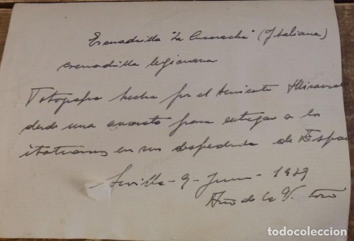 Militaria: SEVILLA, 1939, AERODROMO DE TABLADA, AVIACION LEGIONARIA, LA CUCARACHA, ESPECTACULAR - Foto 2 - 104269371