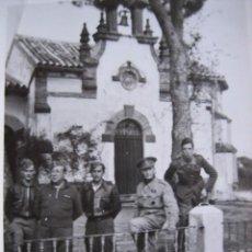 Militaria: FOTOGRAFÍA OFICIALES DEL EJÉRCITO NACIONAL. MÁLAGA. Lote 104322695