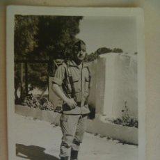 Militaria: LA LEGION : FOTO DE LEGIONARIO CON CHAPIRI Y CORREAJE. Lote 104419991