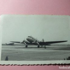 Militaria: FOTOGRAFIA AVIONES EJÉRCITO ESPAÑOL POST GUERRA CIVIL FOTO DC10 ME 109 Nº4. Lote 105128331