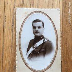 Militaria: FOTOGRAFIA MILITAR ARTILLERIA, AÑOS 20 O 30, FOTOGRAFIA DEL CARMEN. Lote 105172407