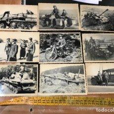 Militaria: LOTE DE FOTOGRAFIAS DE SOLDADOS ALEMANES - SEGUNDA GUERRA MUNDIAL . Lote 105318663