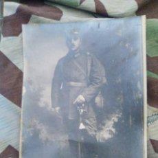 Militaria: FOTOGRAFIA DE GRAN TAMAÑO SOLDADO ALEMAN. Lote 105438167