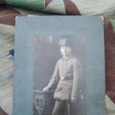 Militaria: FOTOFRAFIA SOLDADO ALEMAN WW1. Lote 105438299