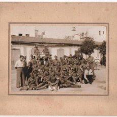 Militaria: SEVILLA, GRUPO MILITARS DE LA CRUZ ROJA, REVERSO,... 2ª DIVISION .... CENSURADO, VER FOTOS. Lote 105586867