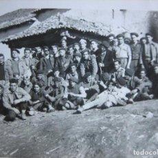 Militaria - Fotografía capitán provisional del ejército nacional. Guerra Civil Frente del Norte - 105601915