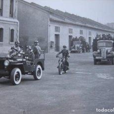 Militaria: FOTOGRAFÍA CAMIONES CHEVROLET MODELO V DE 1939 DEL EJÉRCITO ESPAÑOL.. Lote 105606411