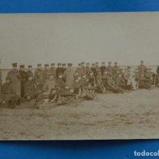 Militaria: EX. SOLDADOS ALEMANES. INTERESANTE POSTAL FOTOGRÁFICA. CON AMETRALLADORAS VICKERS.. Lote 105610263