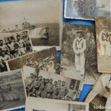 Militaria: MARINA DE GUERRA ESPAÑOLA. LOTE FOTOGRAFÍAS. AÑOS 50 /60.. Lote 105611511