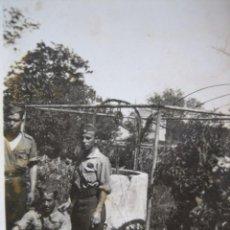 Militaria: FOTOGRAFÍA CABOS DEL EJÉRCITO NACIONAL. VILLAVERDE 1937. Lote 105614351