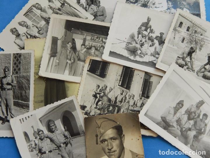 LEGIÓN ESPAÑOLA. LOTE DE FOTOGRAFÍAS. CABALLEROS LEGIONARIOS. (Militar - Fotografía Militar - Otros)