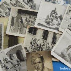 Militaria: LEGIÓN ESPAÑOLA. LOTE DE FOTOGRAFÍAS. CABALLEROS LEGIONARIOS.. Lote 105616027