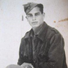 Militaria: FOTOGRAFÍA SOLDADO DEL EJÉRCITO NACIONAL.. Lote 105619203